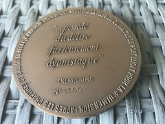 L'Unicorne Dyonisiaque Medal reverse