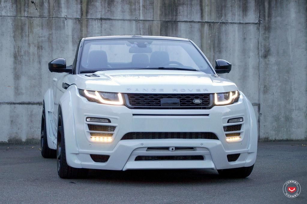 2015 Land Rover Range Rover Evoque Pure >> Land Rover Bilder Evoque Cabriolet | Vossen Forged CG-201