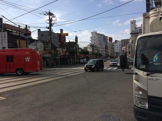 Tram rail way