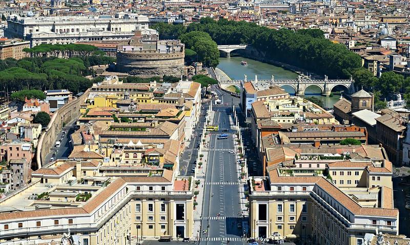 Cúpula da Basílica de São Pedro - Vaticano