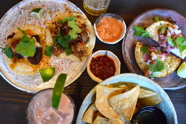 Lunchtime at Breddos Tacos, Clerkenwell | www.rachelphipps.com @rachelphipps