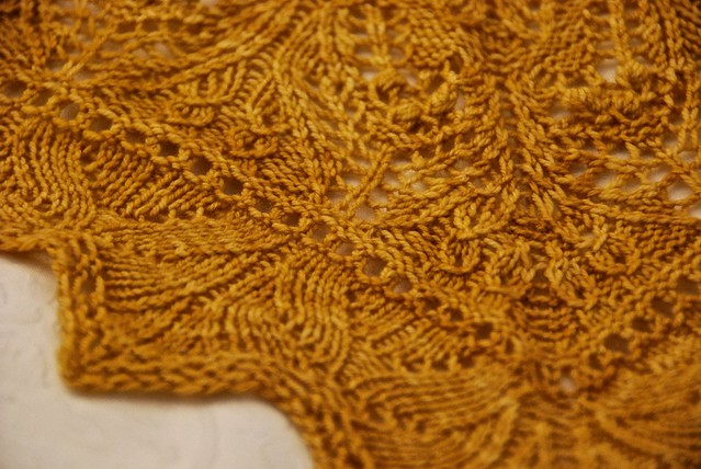 Damask shawl