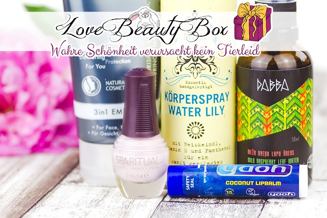 Love Beauty Box, vegane Kosmetikbox, vegane Überraschungsbox