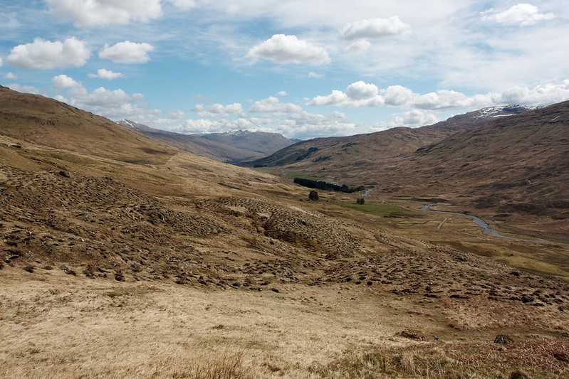 East down Glen Lochay