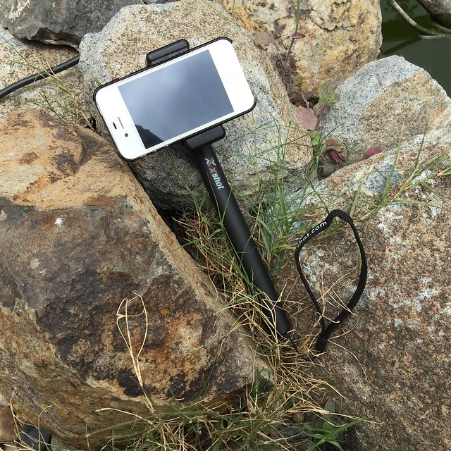 My iPhone 4S and 2.0 Extender with GoPro to Common Camera Adapter