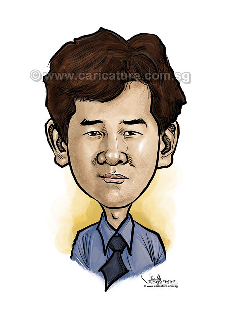 Alex Long digital caricature (watermarked)