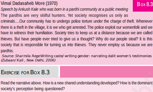 NCERT Class XII Sociology: Chapter 8 - Social Movements (Social Change and Development in India)