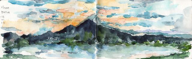 7. Mount Batur