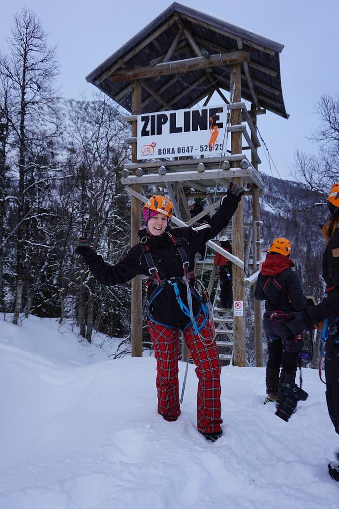 Adrenalinkick - ZipLine i Åre Daysbyju