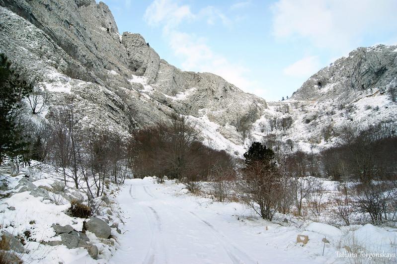 Зима в долине