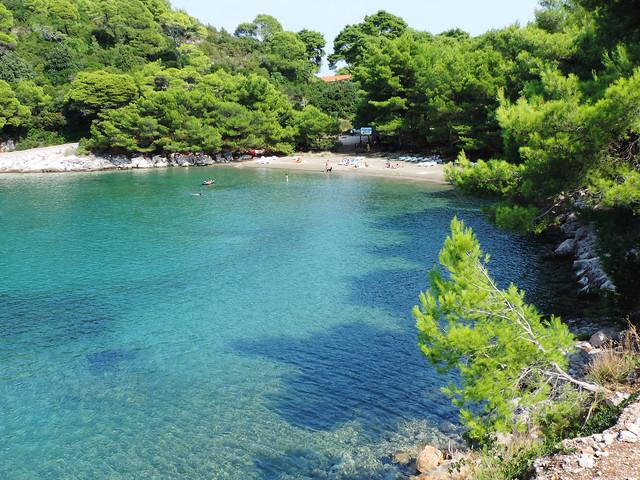 Saplunara Beach, Mljet, Croatia