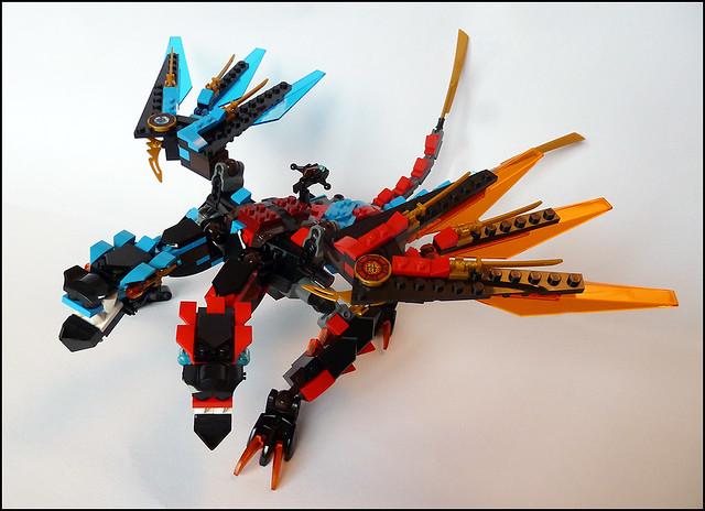 12 nov. 2016 ... La licence créée de toutes pièces par LEGO en 2011 est ... 70626 Dawn of Iron  Doom (704 pièces); 70627 Dragon's Forge (1137 pièces)...