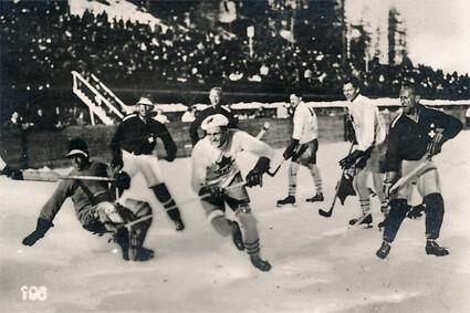 1928 Canada v Switzerland 2