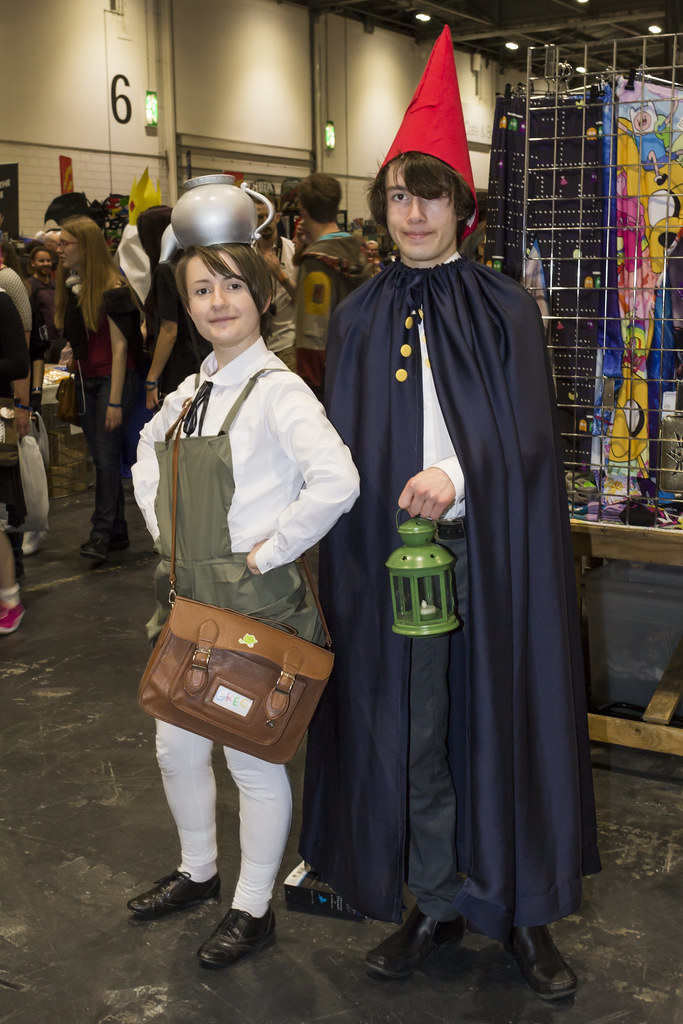 london mcm comic con may 2015 over the garden wall greg and wirt cosplayers - Over The Garden Wall Cosplay