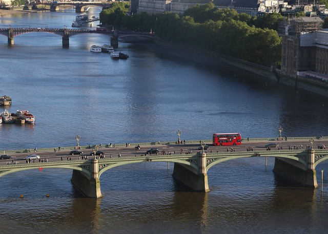 Bridge view from London Eye