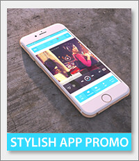 App promo, iphone6, promotional, 3d, amazing, stylish, dynamic