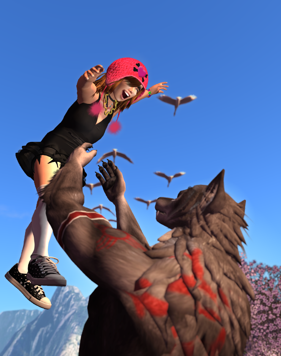 Girl and lycan