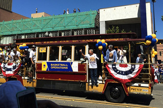 Golden State Warriors - Victory Parade Operations