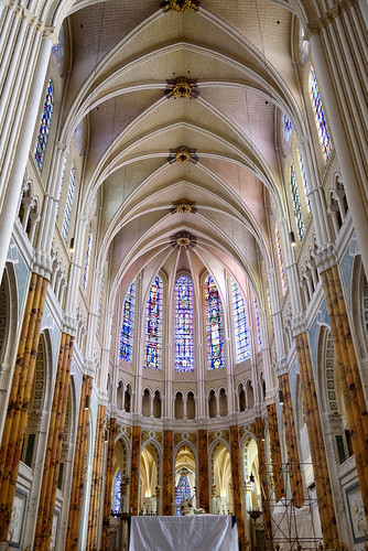 Chartres Cathedral The Choir Of Chartres Cathedral Which