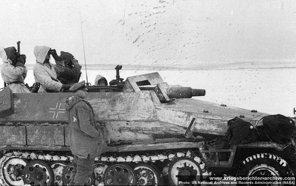 """Image result for Sd.Kfz. 251/9 """"Stummel"""