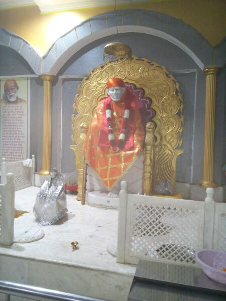 Two different view of Shri Sai Baba