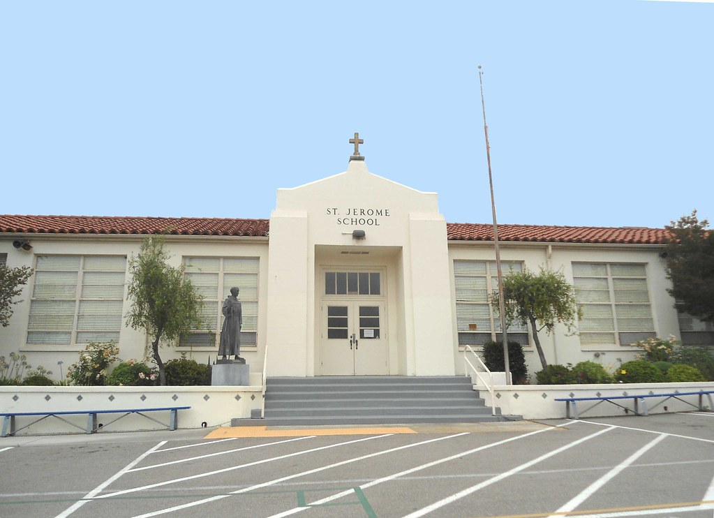... St. Jerome Catholic School In Los Angeles, CA Established By The  Sisters Of St