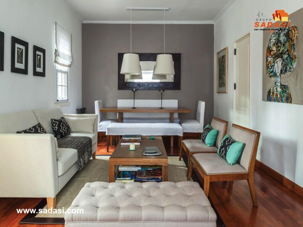 Grupo sadasi le dice como decorar el comedor y su sala con - Habitacion roja y blanca ...