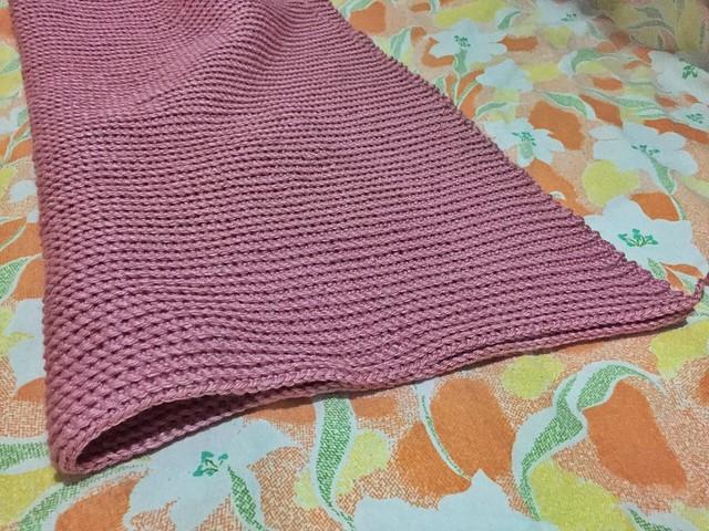 crochet sleeve for sweater