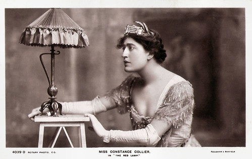 Constance Collier in The Red Lamp (1907)