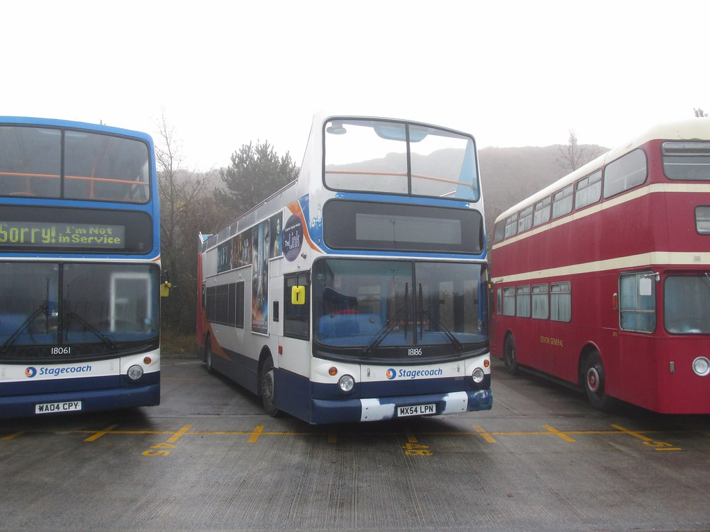 ... 18186, Stagecoach Depot, Chelson Meadow, Plymouth, 11/12/16  