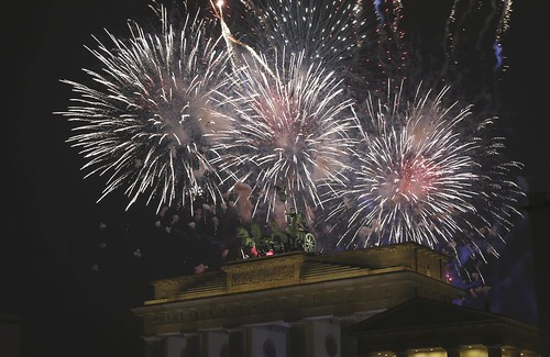 New Year around the world
