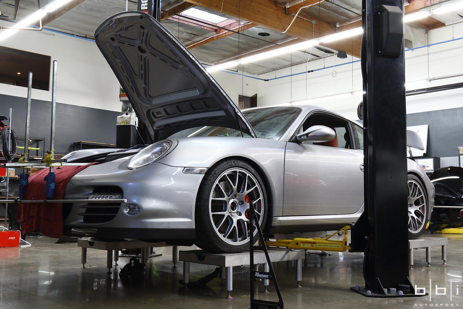 Porsche 997 2 Turbo 6 Speed Bbi Exhaust Amp Lowering Springs