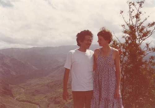 Dad & Mom at Waimea Canyon, Kauai