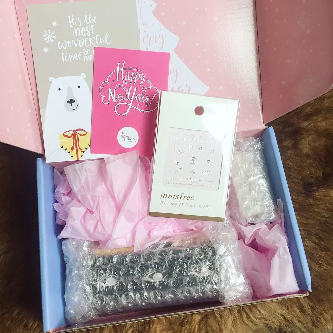 Althea Glitter Box