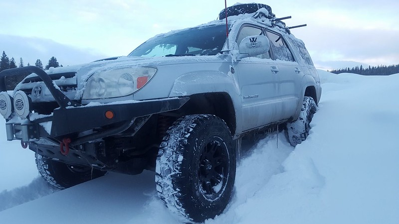 Toytec Lifts: 4Runner Snow January 2017