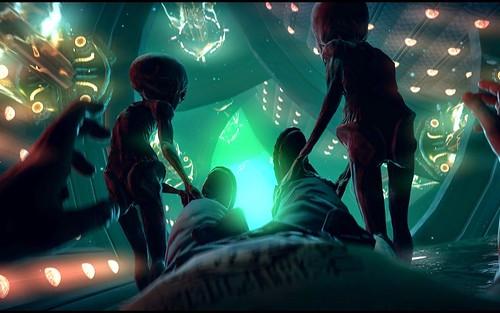 Alien abduction - Grey
