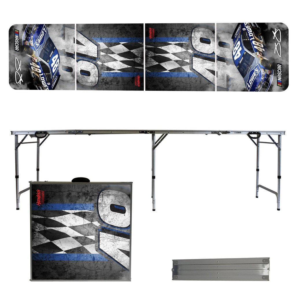 JIMMIE JOHNSON #48 Tailgating, Camping & Pong Table