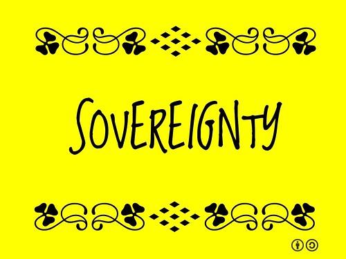 Buzzword Bingo: Sovereignty