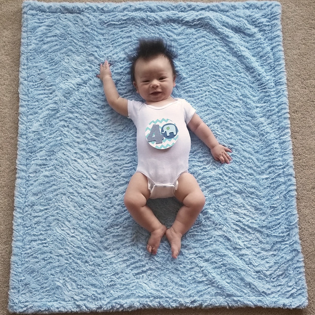 Parker's Fourth Month Photo | shirley shirley bo birley Blog