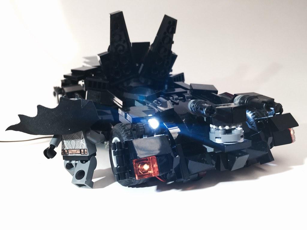 lego new batmobile batman vs superman lego led custom moc. Black Bedroom Furniture Sets. Home Design Ideas