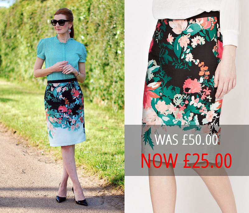 Summer sales | Great Plains floral skirt