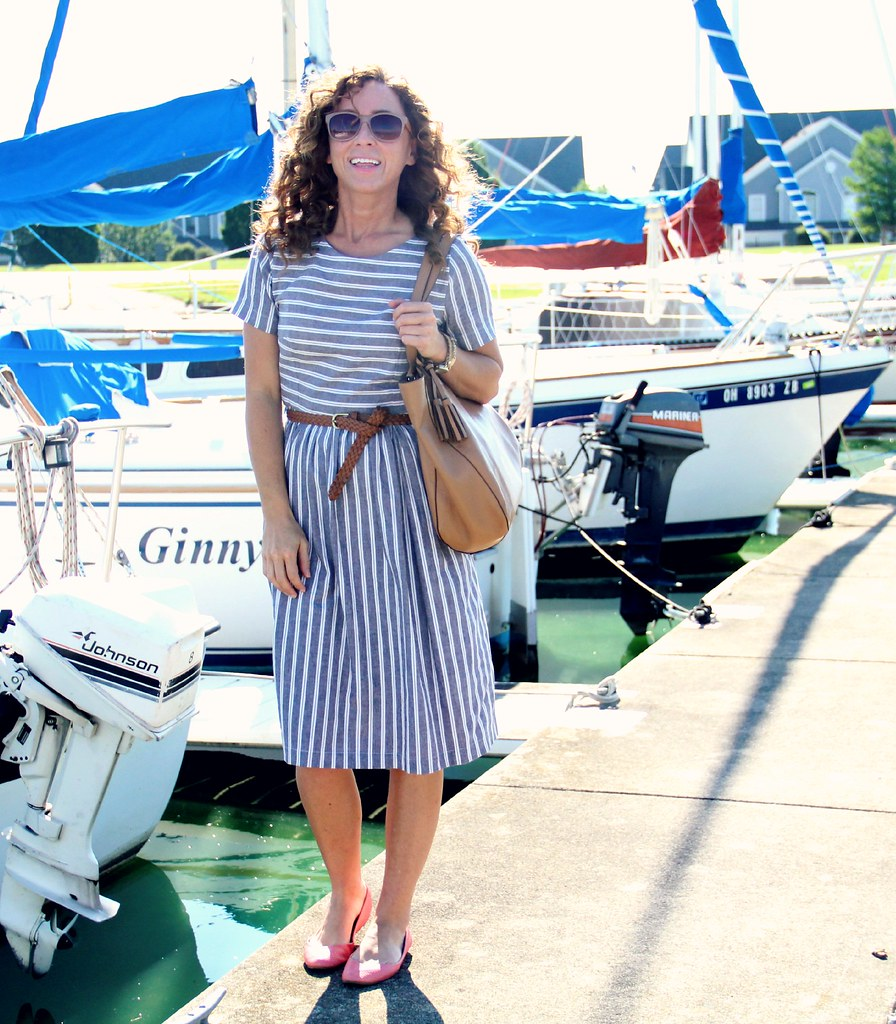 dockside midi dress kristina j design