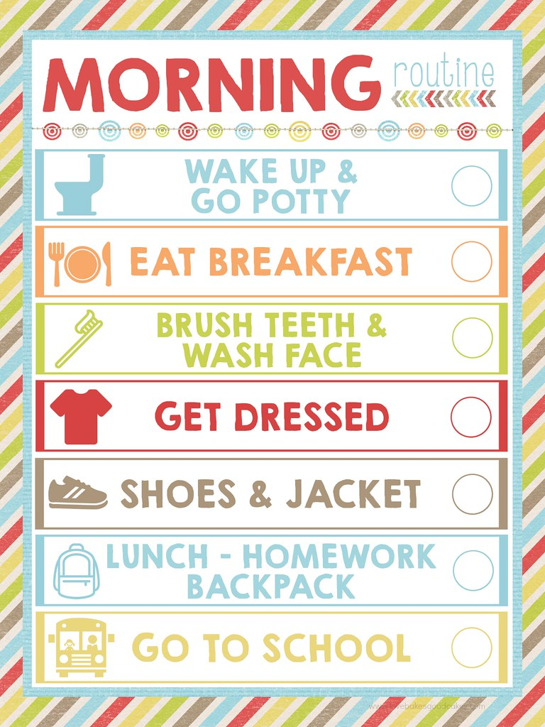 With The Kiddos Heading Back To School You Can Make Mornings More Manageable