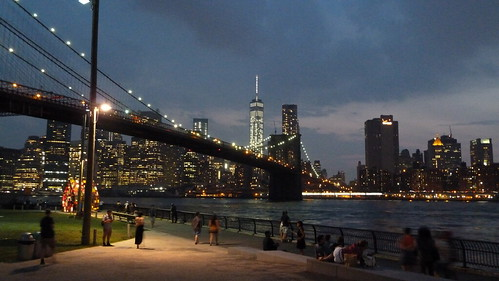 Downtown Manhattan from Brooklyn Bridge Park | by Rob Young
