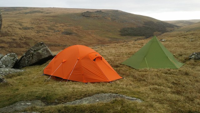 Shelstone Tor Wild Camp