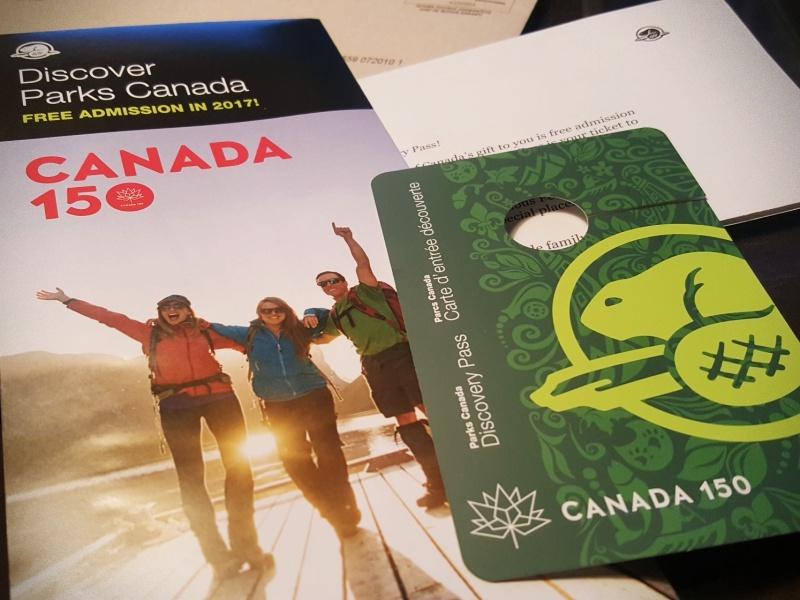Canada 150 pass