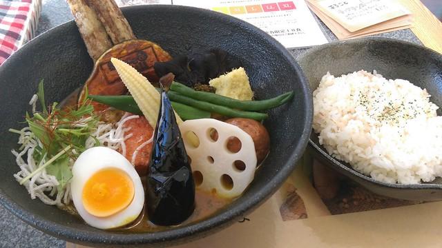 spice&mill たっぷり野菜カレー
