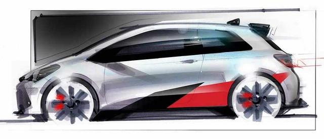 Toyota Yaris Esportivo (Sketch)