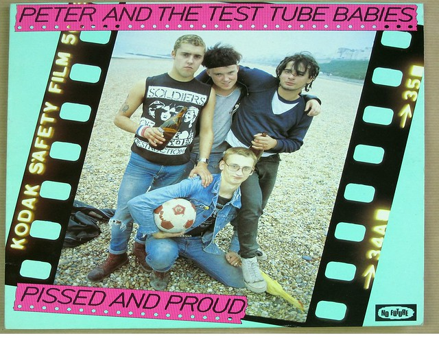 "PETER AND THE TEST TUBE BABIES PISSED AND PROUD 12"" LP VINYL"