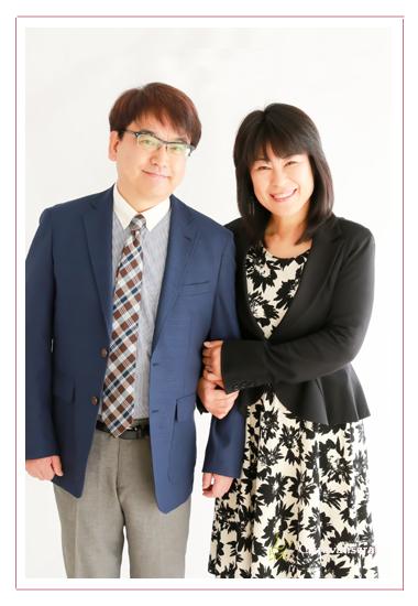プロフィール写真撮影 ビジネス・仕事用 アナウンサー 司会者 出張撮影 夫婦撮影 林ともみ 池戸陽平